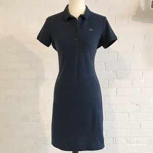 Lacoste Slim Fit Mini Piqué Polo Dress size 40